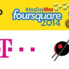 Najava proslave Foursquare Daya