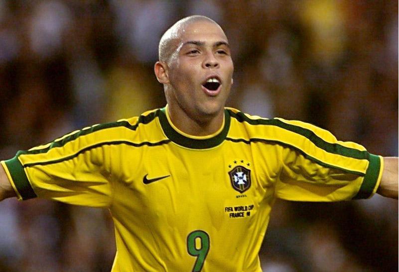 Ronaldo Nazario da Lima je najbolji strijelac u istoriji svjetskih prvenstava sa 15 postignutih golova