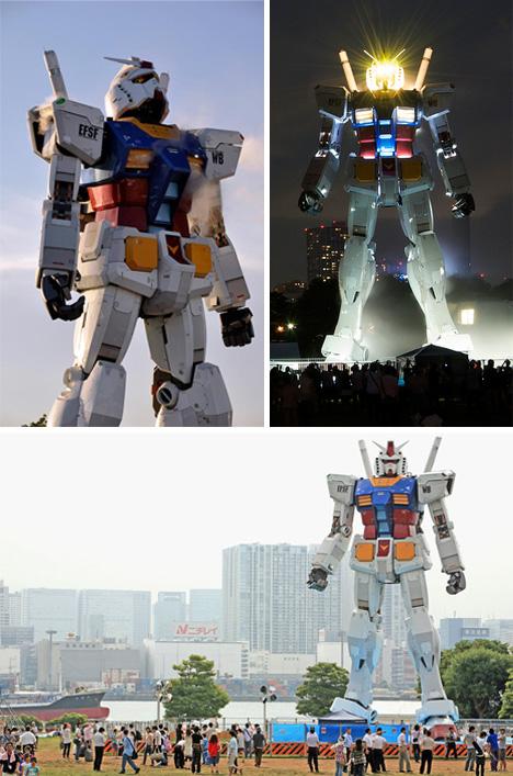 Gundam u prirodnoj velicini