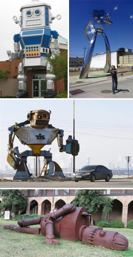 Gigantski roboti u Americi