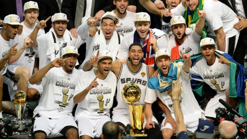 Aktuelni šampioni - San Antonio Spurs