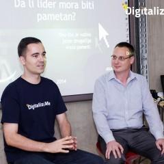 "Digitalizuj.Me XXIX – Dušan Basalo – ""Da li lider mora biti pametan?"""