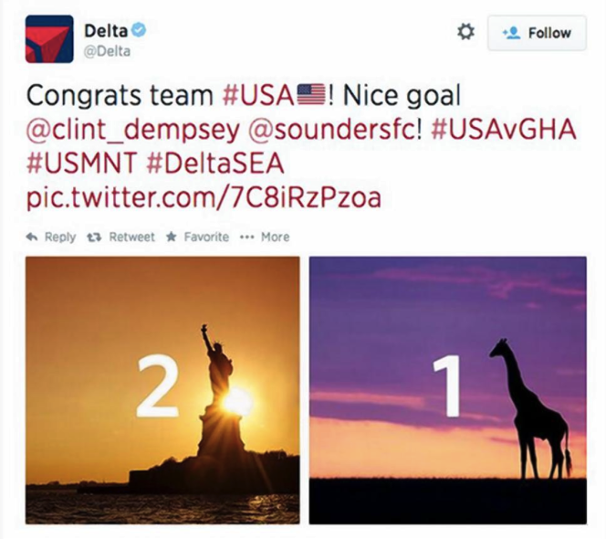 10. Delta Airlines
