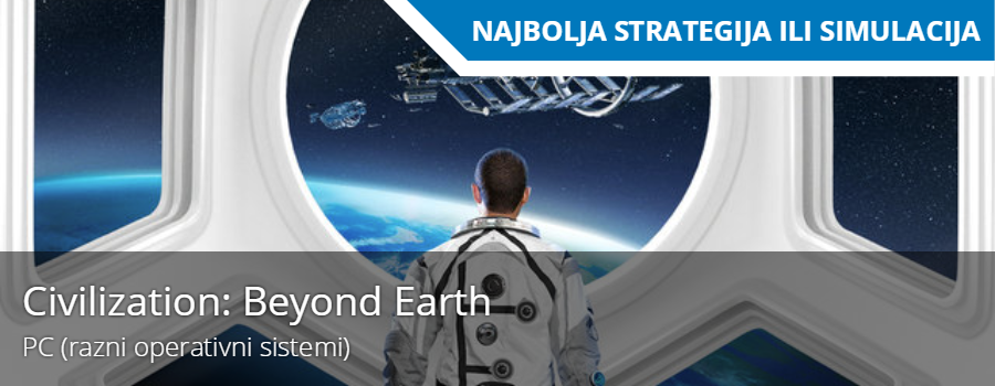 Najbolja Simulacija / Strategija: Civilization:beyond earth