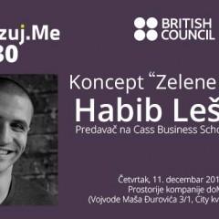 """Najava: Digitalizuj.Me vol. 30 – Habib Lešević – Koncept """"Zelene kulture"""""""