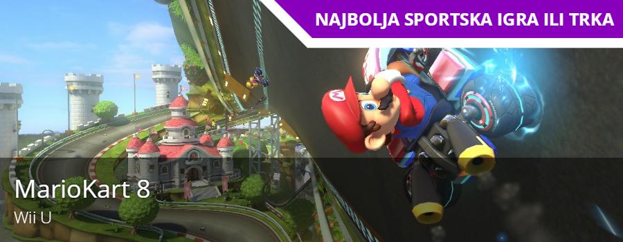 Najbolja sportska igra / trka - Mario kart 8