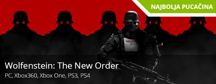 Najbolja pucačina - Wolfenstein: The New Order