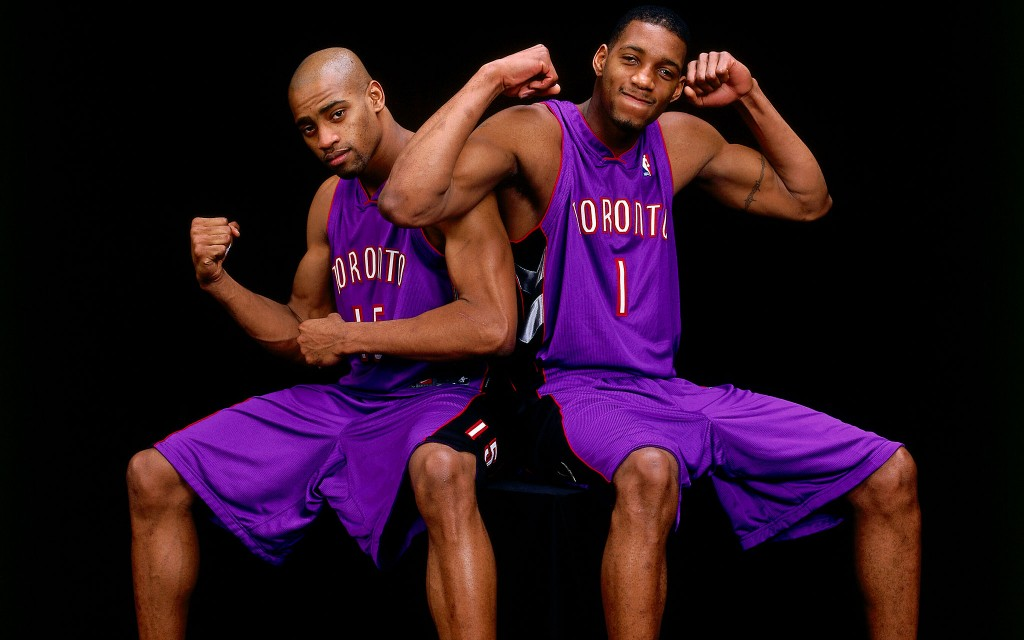 Vince Carter and Tracy McGrady 2000 All-Star Portrait