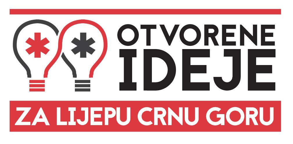 otvorene ideje za crnu goru