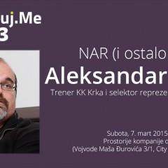 "Najava: Digitalizuj.me vol. 33 – Aleksandar Džikić – ""NAR (i ostalo voće)"""