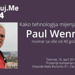 Najava: Digitalizuj.me vol. 34 – Paul Wennekes