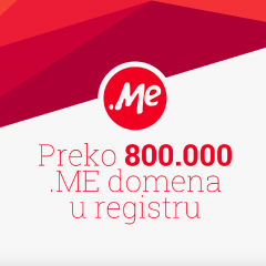 Domen .ME – prezentacija rezultata poslovanja