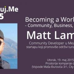 """Najava: Digitalizuj.me vol. 35 – Matt Lambert – """"Becoming a World Citizen"""""""