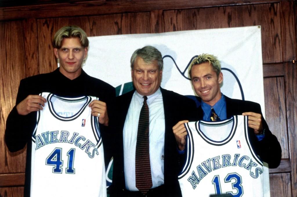 Dallas Mavericks:  Nash and Nowitzki press conference