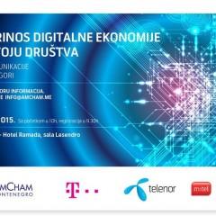 """Najava konferencije """"Telekomunikacije u Crnoj Gori – doprinos digitalne ekonomije razvoju društva"""""""