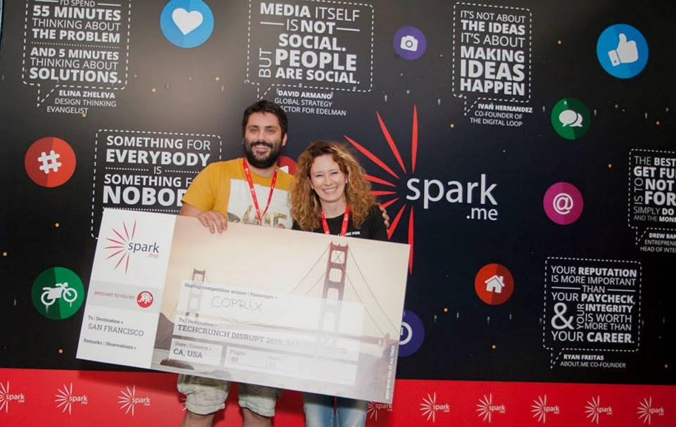 Dodjela nagrade na Startup  takmičenju