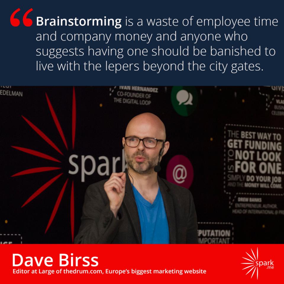 Samo jedna od velikog broja duhovitih izjava Dave Birssa :)