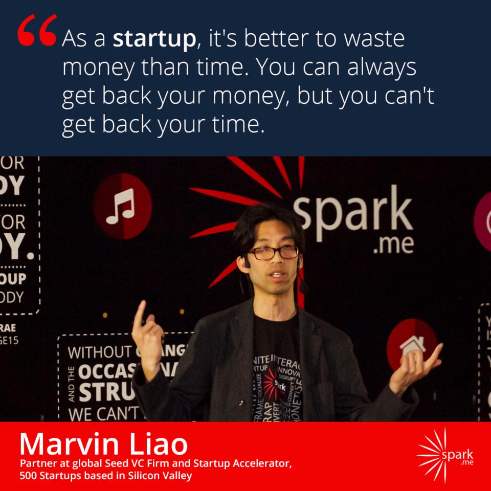 I Marvin Liao je imao sjajan savjet za startupere
