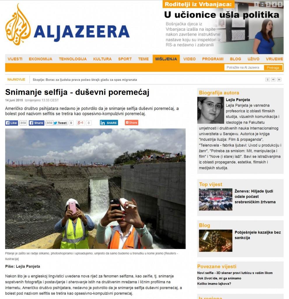 selfie-aljazeera