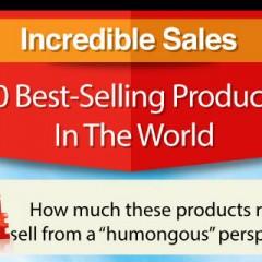 Infografik: Nevjerovatne činjenice o 10 najprodavanijih proizvoda na svijetu