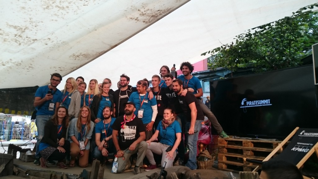Pirate Summit 2015 crew