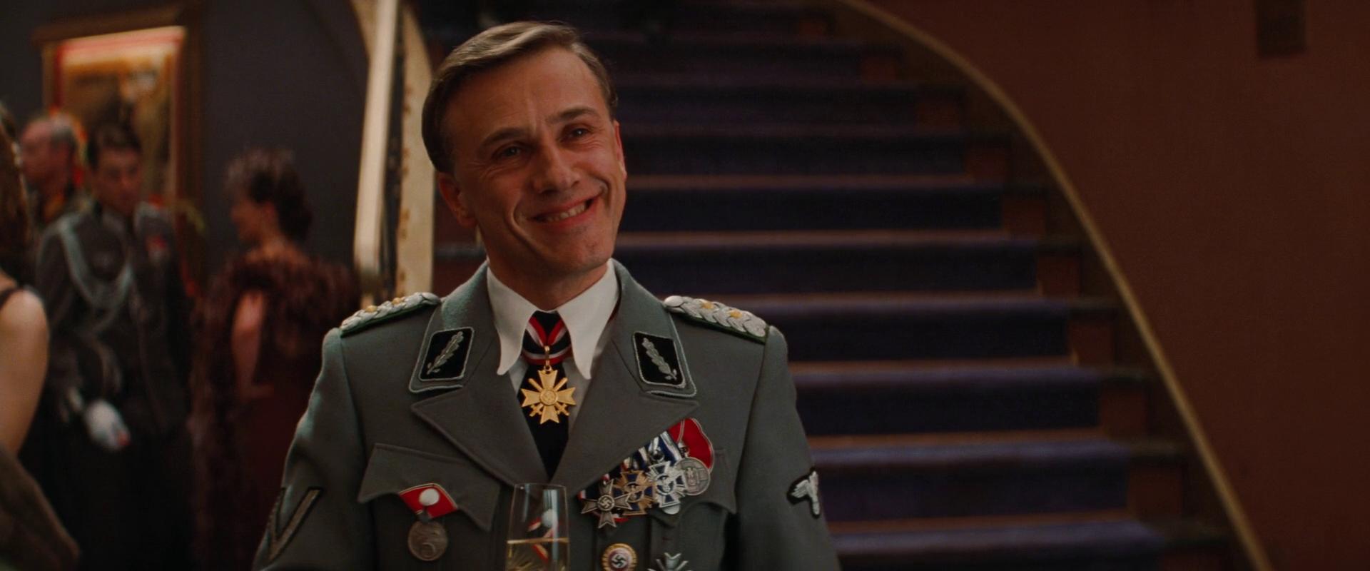 """Po Lukinim riječima, Hans Landa, koga igra Cristoph Waltz u Tarantinovom filmu """"Inglorious Basterds"""", mu je omiljeni filmski lik"""