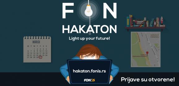 Prijavite se za FON Hakaton – tradicionalno takmičenje u programiranju za mlade