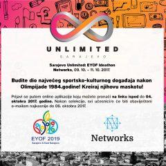 Sarajevo Unlimited i EYOF pozivaju kreativce na Ideathon
