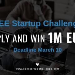 Osvojite milion eura u CEE Startap izazovu