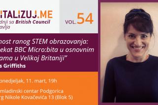 """Digitalizuj.Me vol. 54 – """"Važnost ranog STEM obrazovanja: projekat BBC Micro:bita u osnovnim školama u Velikoj Britaniji"""""""