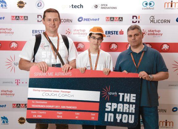CouchCoach, pobjednik Spark.me 2017 startap takmičenja, među TOP8 Evropskih startapa