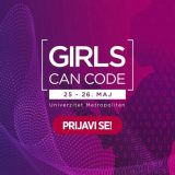 "Prijavi se za ""Girls can code"" hakaton!"