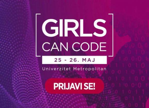 """Prijavi se za """"Girls can code"""" hakaton!"""