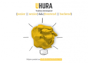 Uhura Solutions zapošljava junior i senior developere