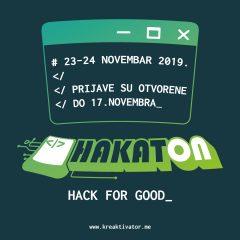 Prijavi se za Hakaton – HACK FOR GOOD!