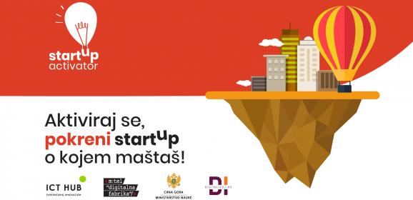 Prijavi se za Startup Activator program!