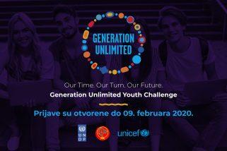 Prijavi se na Generation Unlimited Izazov za mlade!