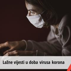Lažne vijesti u doba virusa korona