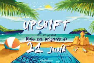 Prijavi se za prvu ljetnju UPSHIFT radionicu!
