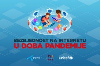 """Preuzmite besplatnu e-knjigu """"Bezbjednost na internetu u doba pandemije COVID-a-19"""""""
