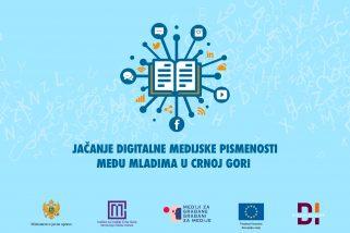 Jačanje digitalne medijske pismenosti među mladima u Crnoj Gori