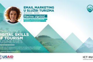 """Prijavi se za besplatnu radionicu """"Email marketing u službi turizma""""!"""