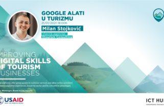 """Prijavi se za besplatnu radionicu """"Google alati u turizmu""""!"""
