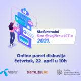 Prijavi se za panel povodom međunarodnog dana djevojčica u ICTu!