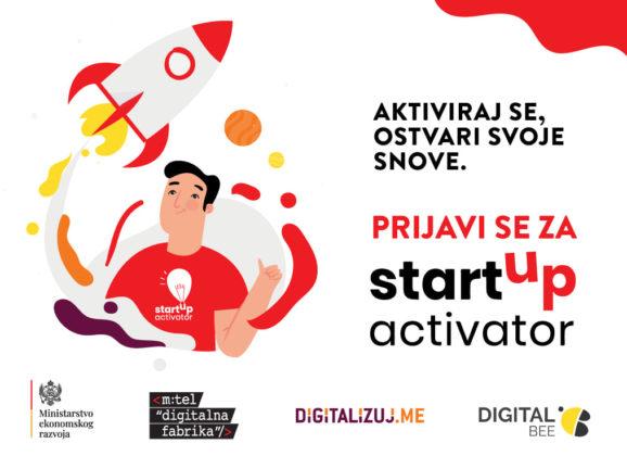 """Otvorene prijave za """"Startup Activator"""", program za startapove u najranijoj fazi razvoja"""